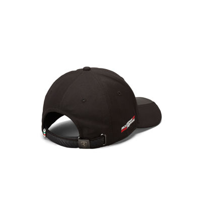 Image de SCUDETTO CARBON STRIP CAP BLACK