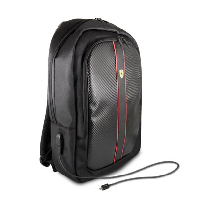 "Image de ON TRACK BACKPACK 15"" WITH CONNECTOR FOR POWERBANK BLACK"