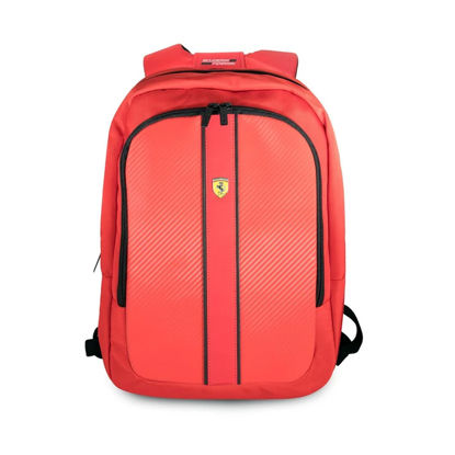 "Image de ON TRACK BACKPACK 15"" WITH CONNECTOR FOR POWERBANK RED"