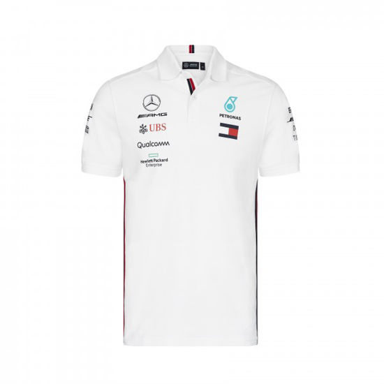 Image de MEN TEAM MEN POLO WHITE
