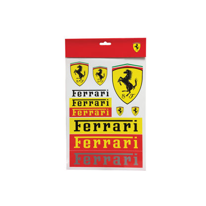 Image de SET STICKER FERRARI