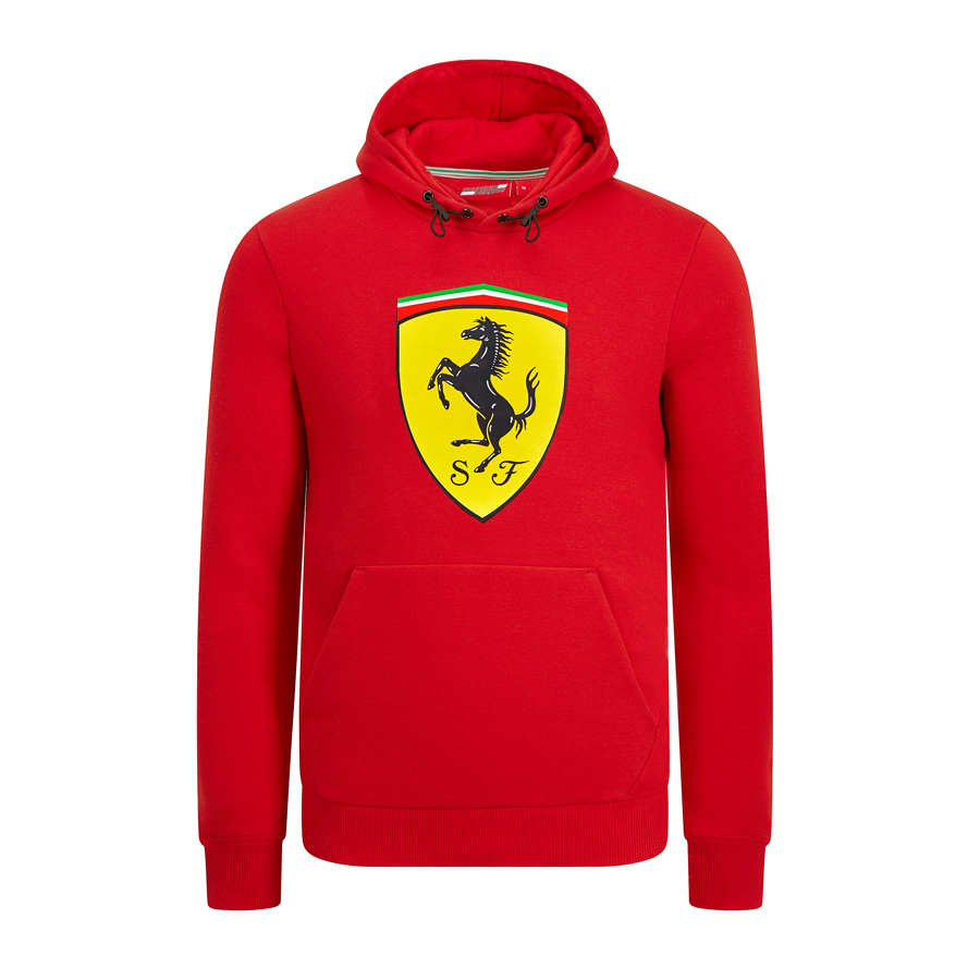 Image de SF HOODED SWEAT RED